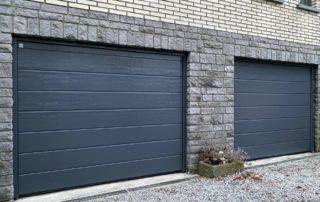 Portes de garage Sectionnelles Hormann Ets Latinne 1